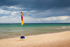 Australian Beach Scene Royalty Free Stock Photography