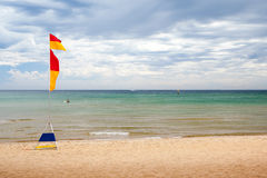 Australian Beach Scene Royalty Free Stock Photo