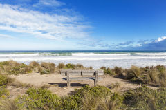 Australian beach shore Stock Photography