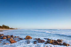 Australian beach at sunrise Stock Images
