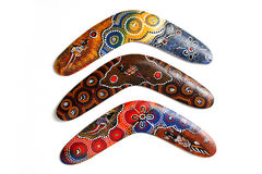 Australian Boomerang. Stock Photography