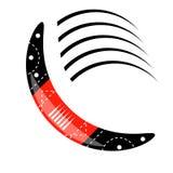 Australian Boomerang Icon. Isolated on White Background vector illustration