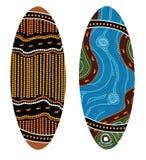 Australian boomerang vector. Stock Photos