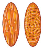 Australian boomerang vector. Stock Image