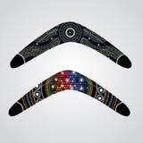 Australian boomerang vector. Royalty Free Stock Photo