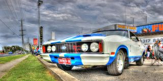 Australian built Ford Falcon XB Royalty Free Stock Photography