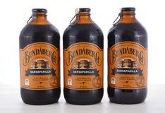 Australian Bundaberg Sarsaparilla carbonated soft drink. Royalty Free Stock Photo