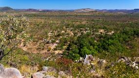 Australian Bush landscape Stock Image