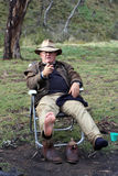 Australian Bushman Stock Photography