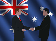 Australian business meeting Royalty Free Stock Photos