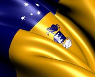 Australian Capital Territory Flag Royalty Free Stock Photo
