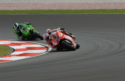 Australian Casey Stoner of Ducati Marlboro at 2007 Royalty Free Stock Image