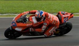 Australian Casey Stoner of Ducati Marlboro at 2007 Stock Photo