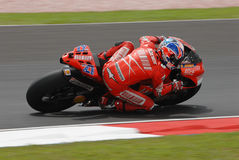 Australian Casey Stoner of Ducati Marlboro at 2007 Stock Photos