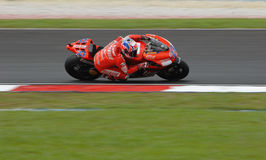Australian Casey Stoner of Ducati Marlboro at 2007 Royalty Free Stock Photography