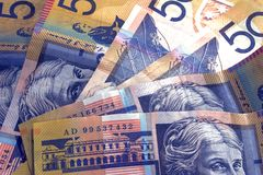 Australian Cash Stock Photo