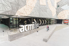 Australian Centre for the Moving Image in Melbourne stock photos