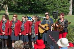 Australian Choir Royalty Free Stock Image