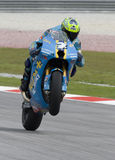 Australian Chris Vermuelen of Rizla Suzuki Motogp Stock Images