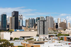 Australian city during the day Stock Photo