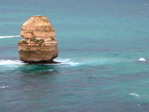 Australian Coast. Line - Great Ocean Road royalty free stock photography