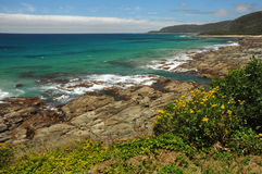 The Australian coast. Royalty Free Stock Images