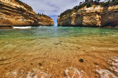 The Australian coast. Stock Photo