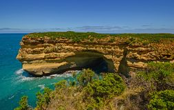 The Australian coast. Royalty Free Stock Photo