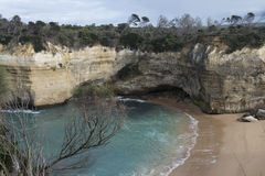 Australian coast of the Great Ocean Road. Australia Royalty Free Stock Image