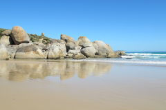 Australian coast in Wilsons Promontory National Park Stock Photos