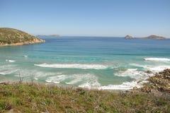 Australian coast in Wilsons Promontory National Park Stock Image