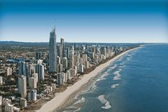 Australian coastal city Royalty Free Stock Images