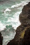 Australian coastline at 'Hat Head'. Coastline at 'Hat Head' - on the east coast of Australia Royalty Free Stock Photo