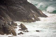 Australian coastline at 'Hat Head'. Coastline at 'Hat Head' - on the east coast of Australia Stock Photos