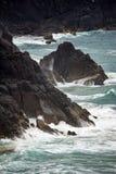 Australian coastline at 'Hat Head'. Coastline at 'Hat Head' - on the east coast of Australia Royalty Free Stock Images