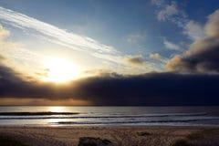 Australian Coastline stormy Diamond Beach Royalty Free Stock Image