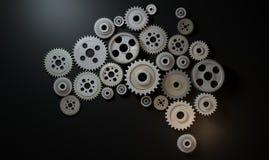 Australian Cogwheel Machine Stock Photos