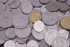 Australian coins Royalty Free Stock Photos