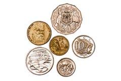 Australian coins Royalty Free Stock Photo
