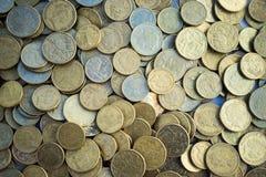 Australian Coins Closeup royalty free stock photo