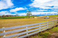 Australian country farm Stock Photos
