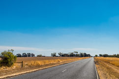 Australian country road Royalty Free Stock Image