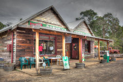 Australian Country Store Royalty Free Stock Photo