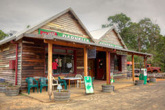 Australian Country Store Royalty Free Stock Photography