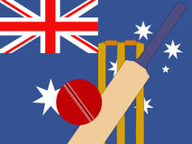 Australian cricket Royalty Free Stock Image