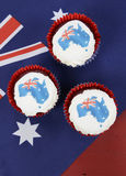 Australian cupcakes Stock Photography