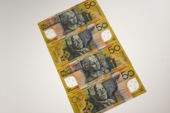 Australian Currency. The Australian dollar or AUD is the currency of the Commonwealth of Australia Royalty Free Stock Photo