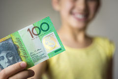 Australian currency Royalty Free Stock Photo