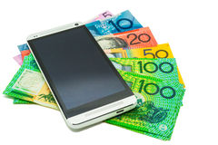 Australian currency Royalty Free Stock Photos