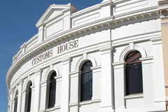 Australian Customs. House in Fremantle, Western Australia royalty free stock photography